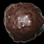 Lebkuchentaler mit Schokolade