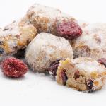 Cranberry-Walnuss-Stollenkonfekt